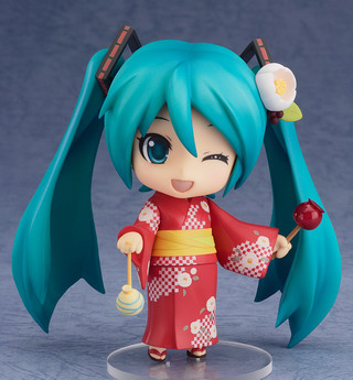 Vocaloid 2 – Hatsune Miku Yukata Ver. Natsutsumaki Nendoroid No.333 action figure by Good Smile Company