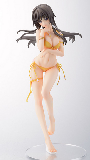 Muv Luv Alternative Total Eclipse   Takamura Yui Shame at the Beach Side 1/7 PVC figure by Hobby Japan