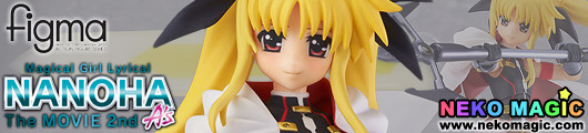 Magical Girl Lyrical Nanoha The MOVIE 2nd A's – Fate Testarossa Blaze Form Ver. figma 186 action figure by Max Factory