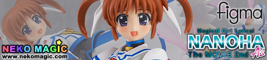 Magical Girl Lyrical Nanoha The MOVIE 2nd A's – Takamachi Nanoha Excelion Mode Ver. figma 185 action figure by Max Factory