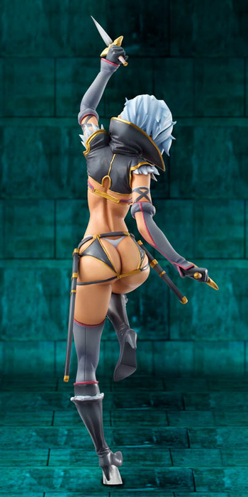 Queen's Blade   Assassin of the Fang Irma 1/8 PVC figure by Megahouse