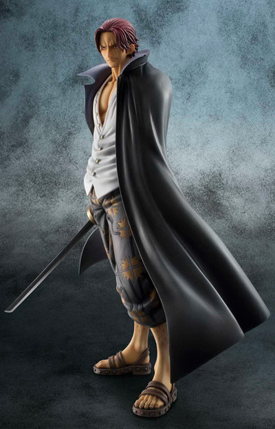 One Piece – Red Haired Shanks 1/8 PVC figure by Megahouse