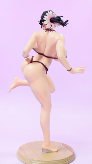 Queen's Blade – Cattleya Swimsuit Ver. 1/4.5 PU+PVC figure by APLUS