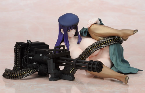 OVER DARD original character   S.M.G. series Runa 1/12 PVC figure by Daiki Kougyou
