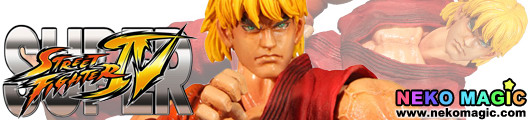 Super Street Fighter IV – Ken non scale action figure by Square Enix