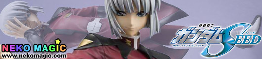 Mobile Suit Gundam SEED – Yzak Joule 1/8 PVC figure by Alpha Omega
