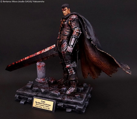 Berserk – Guts the Black Swordsman Birth Ceremony Chapter 2013 blood version 1/10 Polystone figure by Art of War