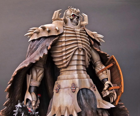 Berserk – Skull Knight Birth Ceremony Chapter White Skeleton version 1/10 Polystone figure by Art of War