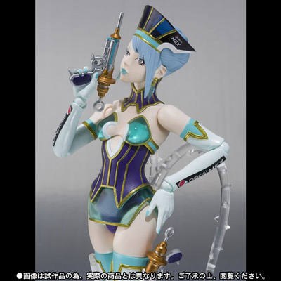 Tiger & Bunny – Blue Rose S.H.Figuarts action figure by Bandai