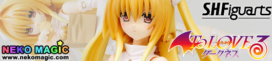 To LoveRu Darkness – Konjiki No Yami Trans White Ver. S.H.Figuarts action figure by Bandai