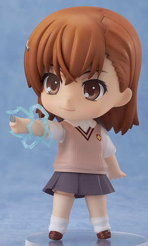 A Certain Scientific Railgun – Misaka Mikoto Nendoroid No.345 action figure by Good Smile Company