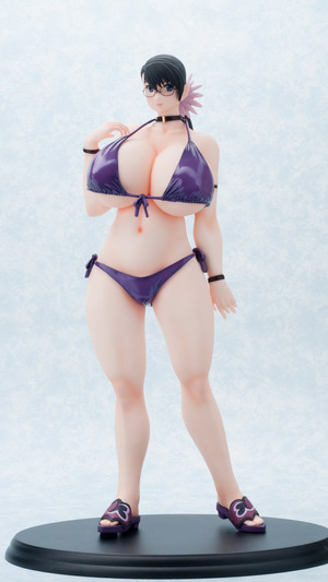 Queen's Blade – the Weapons Shop Cattleya Swimsuit Ver. 2 1/5 PVC figure by Daiki Kougyou