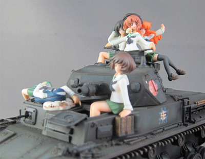 Girls und Panzer – Anglerfish Team 1/35 GK by ATELIER HIRO