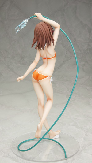 A Certain Scientific Railgun   Misaka Mikoto DX Playing Water figure Anime Ver. 1/6 PVC figure by ASCII Media Works