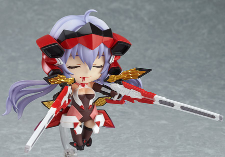 Senki Zesshou Symphogear – Yukine Chris Nendoroid No.366 action figure by Good Smile Company