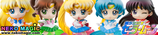 Bishojo Senshi Sailor Moon – Sailor Moon Chapter of Petit Punishment! Petit Chara! series trading figure by Megahouse