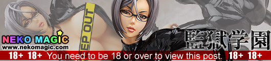 Prison School – Prison School's Hidden Student Council Vice President Meiko Shiraki Catsuit Ver.1/7 PVC figure by Wing