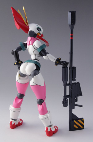 Gurren Lagann The Movie: The Lights in the Sky are Stars – Tengen Toppa Yoko W Tank Light Equipment Style Dimension Diver Color SP No. 05 GK by Daibadi
