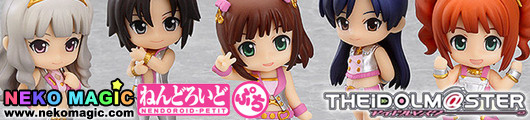 THE IDOLM@STER 2 Million Dreams Ver.   Stage 01 Nendoroid Petit trading figures by Good Smile Company
