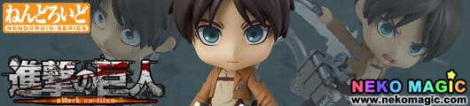 Attack on Titan – Eren Yeager Nendoroid No.375 action figure set by Good Smile Company