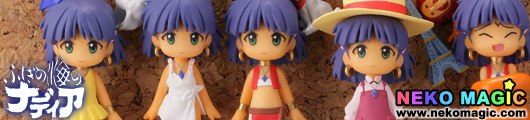 The Secret of Blue Water Nadia – CapsuleQ Fraulein Capsule Omikuji Nadia Ver. gashapon by Kaiyodo