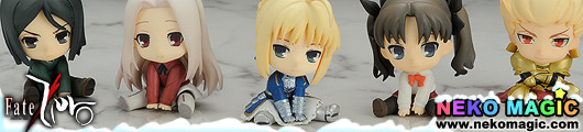 Fate/Zero – Petanko Mini! Fate/Zero Trading Figures by Penguin Parade