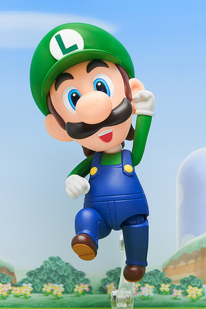Super Mario – Luigi Nendoroid No.393 action figure by Good Smile Company