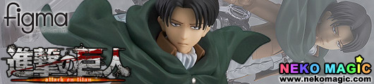 Attack on Titan – Levi figma 213 action figure by Max Factory