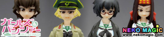 Girls und Panzer – Hippo san Team Figure Set 1/35 GK by Platz