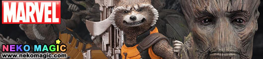 Marvel Comics Guardians of the Galaxy – Rocket Raccoon 1/10 PVC Kit by Kotobukiya