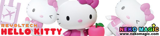 Hello Kitty – Hello Kitty Peach Ver. Revoltech action figure by Kaiyodo