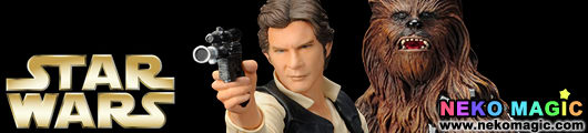 Star Wars – Han Solo & Chewbacca 1/10 PVC figure set by Kotobukiya