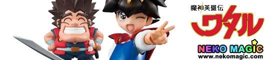 Mashin Hero Wataru   Ikusabe Wataru & Tsurugibe Shibaraku non scale PVC figure by Megahouse