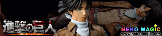 Attack on Titan   Eren Yeager Cleaning Ver. 1/8 PVC figure by SEN TI NEL