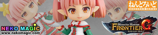 Monster Hunter Frontier G – G Class Receptionist Nendoroid No.439 action figure by Capcom