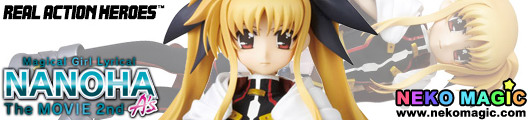 Magical Girl Lyrical Nanoha The MOVIE 2nd A's – Takamachi Nanoha Real Action Heroes 661 27cm doll by Medicom Toy