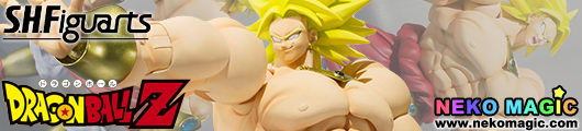 Dragon Ball Z – Broly S.H.Figuarts action figure by Bandai