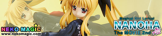 Magical Girl Lyrical Nanoha The MOVIE 2nd A's – Fate Testarossa Yukata Ver. 1/8 PVC figure by FREEing
