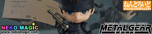Metal Gear Solid – Solid Snake Nendoroid No.447 action figure by Good Smile Company