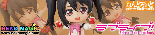 Love Live! – Yazawa Nico Nendoroid No.444 action figure set by Good Smile Company