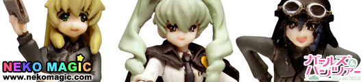 Girls und Panzer – Anzio High School Figure Set 1/35 GK by Platz