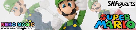 Super Mario – Luigi S.H.Figuarts action figure by Bandai