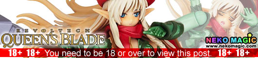 Queen's Blade – Combat Instructor Alleyne Legacy of Revoltech LR 019 non scale action figure by Kaiyodo