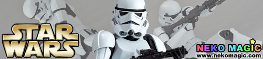 Star Wars – Storm Trooper Star Wars: Revo non scale action figure by Kaiyodo