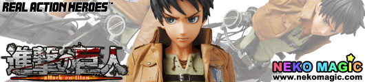 Attack on Titan – Eren Yeager Real Action Heroes 668 30cm doll by Medicom Toy