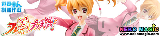 Fresh Precure! – Momozono Love World Uniform Operation 1/10 PVC figure by Megahouse