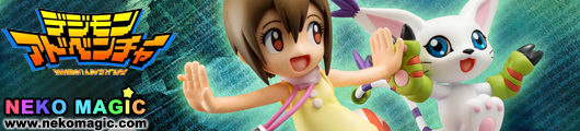 Digimon Adventure – Yagami Hikari & Tailmon 1/10 PVC figure by Megahouse
