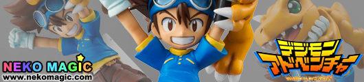 Digimon Adventure – Yagami Taichi & Agumon 1/8 PVC figure by Megahouse