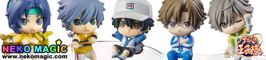 The Prince of Tennis – New The Prince of Tennis Oujisama no Tea Time Ochatomo Series trading figure by Megahouse
