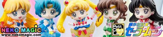 Bishojo Senshi Sailor Moon – Sailor Moon Candy de Makeup! Petit Chara Land trading figure by Megahouse